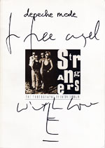 Strangers signed by Anton